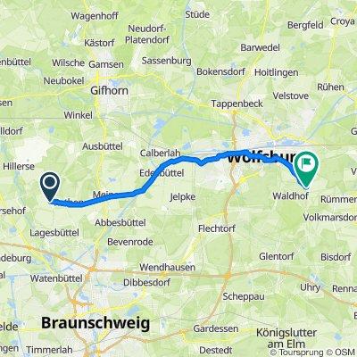 Auf der Masch 14, Adenbüttel nach Meyerhofsweg 4, Wolfsburg
