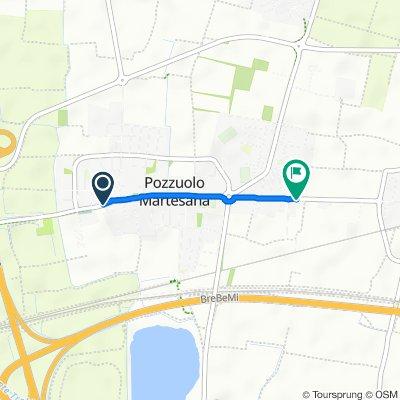 Da SP103 32, Pozzuolo Martesana a Via IV Novembre 103, Pozzuolo Martesana