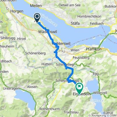 Easy ride in Einsiedeln