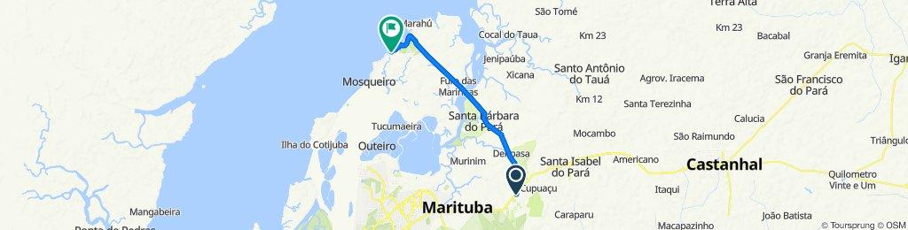Blistering ride in Belém