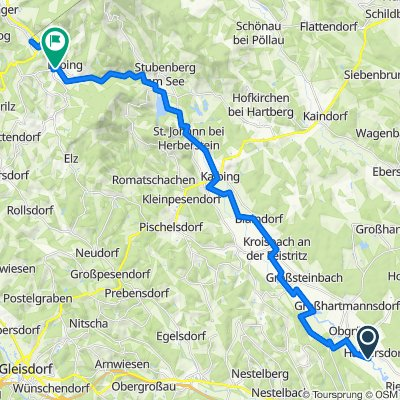 Feistritztalradweg (retour)