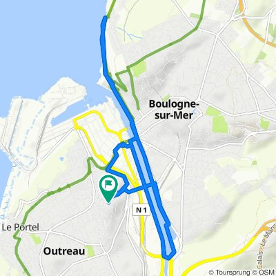 Steady ride in Outreau