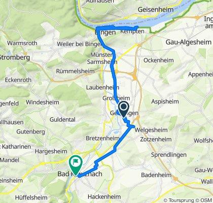 Am Hallenbad 4, Gensingen do Salinenstraße 25, Bad Kreuznach
