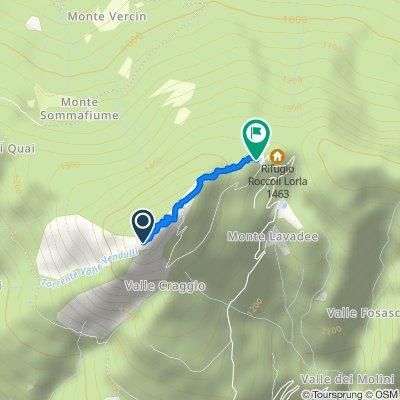 Monte Legnoncino - discesa lungo la direttissima