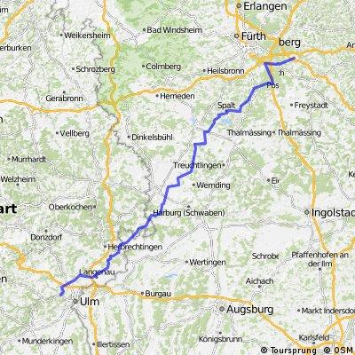 RR Altdorf /Nürnberg - Blaustein/Ulm