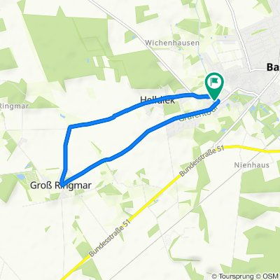 Harpstedter Straße 14, Bassum nach Harpstedter Straße 13, Bassum