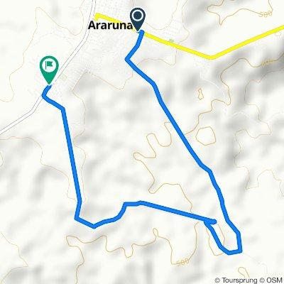 De Avenida Coronel Pedro Targino, 755, Araruna a Rua Tertulino de Mello, Araruna