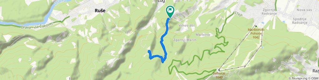 Restful route in Ruše