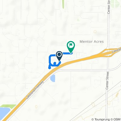Moderate route in Mentor