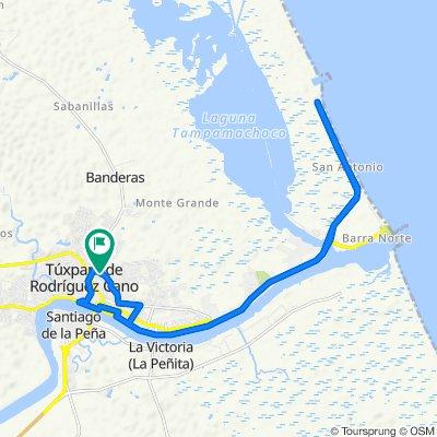 De Calle 18 de Marzo LB, Túxpam de Rodríguez Cano a Calle 18 de Marzo 57, Túxpam de Rodríguez Cano