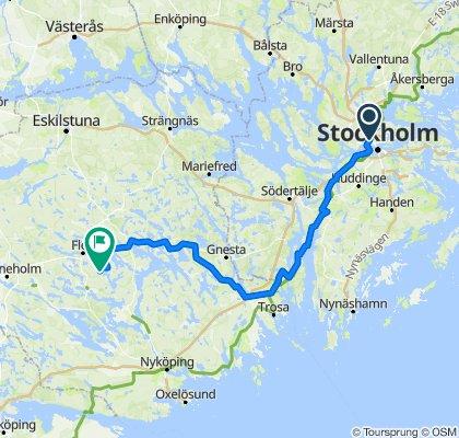 Stockholm - Malsta, Flen
