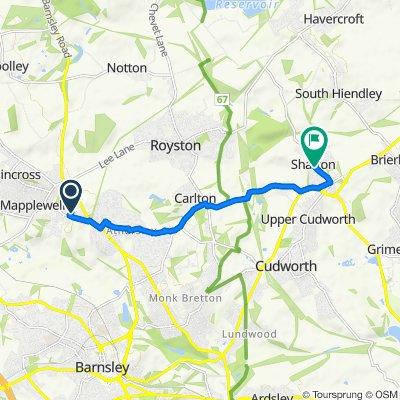 6 Cloudberry Way, Barnsley to 2–54 Manor View, Barnsley