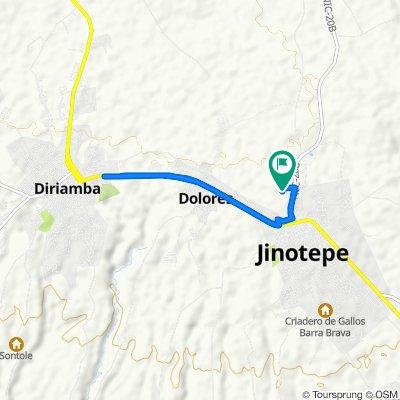 Paseo lento en Jinotepe