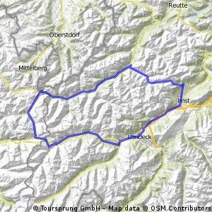 Hantenjoch und Arlbergpass