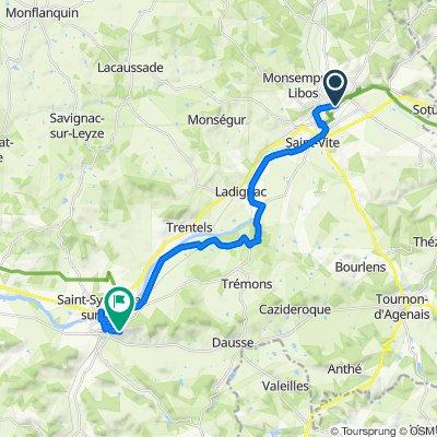 Itinéraire modéré en Penne-d'Agenais
