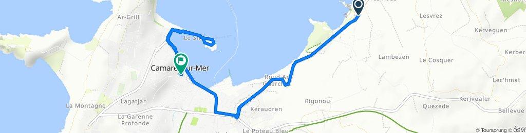 Camaret-sur-Mer Radfahren