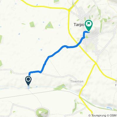 Bate's Mill Lane, Tarporley to 27 Oathills Close, Tarporley