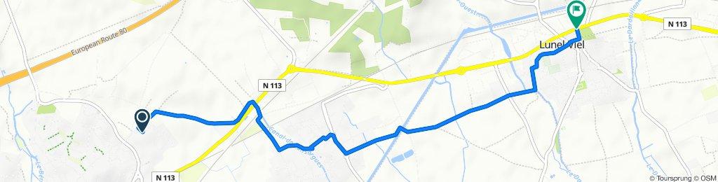 De 66 Rue du Perdigal, Saint-Brès à 723–764 Avenue de la République, Lunel-Viel