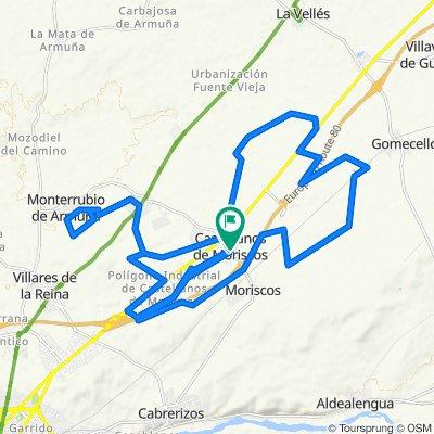 De Calle Escuelas, 3, Castellanos de Moriscos a Calle Caño de la Cerrada, 8, Castellanos de Moriscos