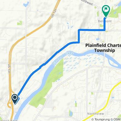 4432–4452 Ball Park Dr NE, Comstock Park to Fred Meijer White Pine Trail, Belmont