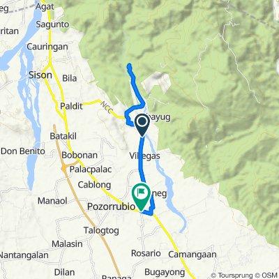 Moderate route in Pozorrubio