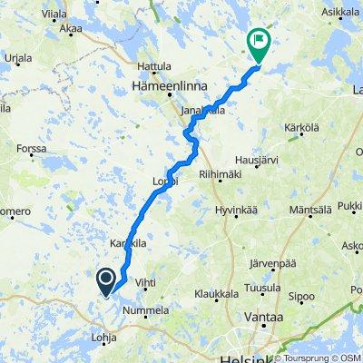 Somerontie 31, Nummi-Pusula to Vääksyntie 299, Hämeenlinna