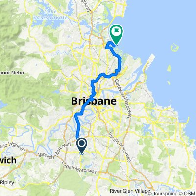 Shorncliffe to Durack