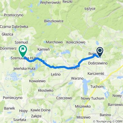 Trasa z Brzozowa 10–14, Bojano