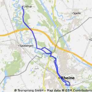 Emstour Listrup-Rheine-Listrup