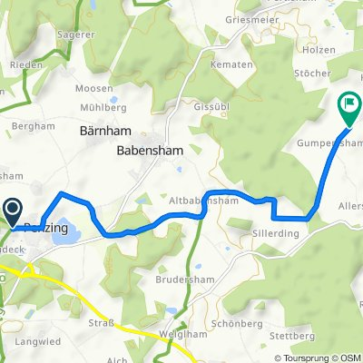 Neudecker Straße 50, Babensham nach Tötzham 3, Babensham