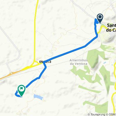 Route from Estrada de Santa André, Santiago do Cacém