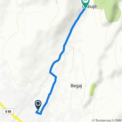 Shaip Azemi, Vushtrri to Unnamed Road, Gobujë