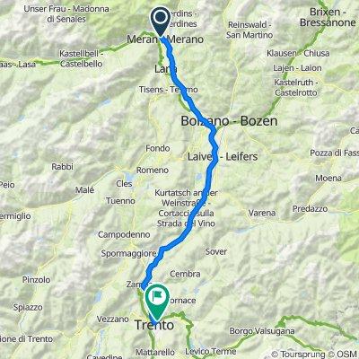 Merano - Trento 85 km