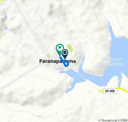 Steady ride in Paranapanema