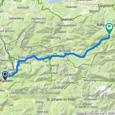Kufstein - Laubau - 55 km