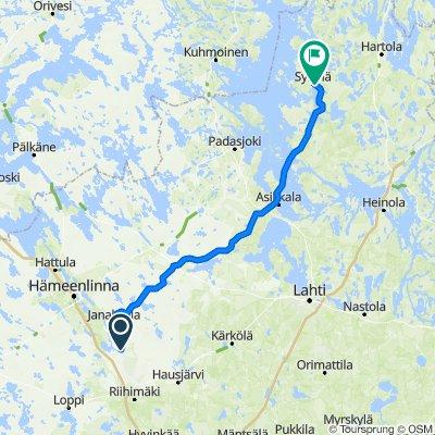Leppäkoskentie 464, Janakkala to Leppäkorventie 1, Sysmä