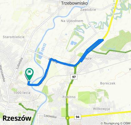 Steady ride in Rzeszów