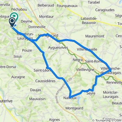 De 17 Route de Montbrun, Corronsac à 9 Impasse La Clé des Champs, Corronsac