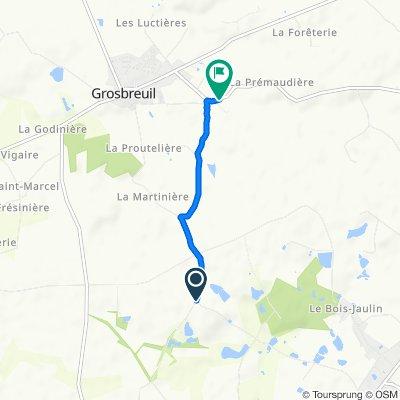 Easy ride in Grosbreuil