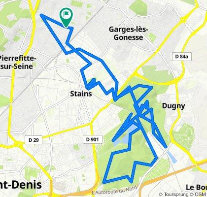 De Rue de Pontoise 45, Stains à Rue de Pontoise 45, Stains