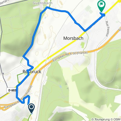 Moderate route in Morsbach