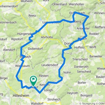 Berndorf-Lommersdorf-Eichenbach-Antweiler-Ahütte-Berndorf