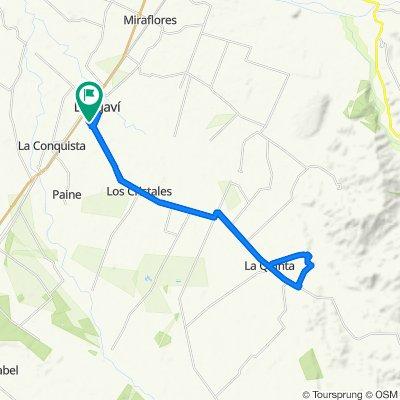 Steady ride in Longaví