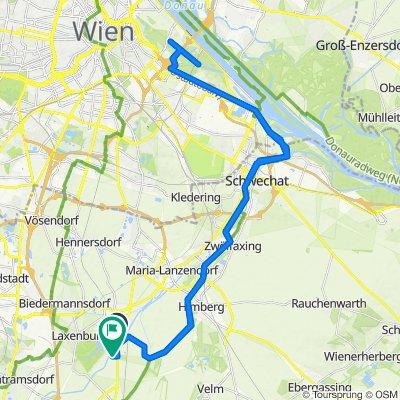 Ödenburger-Bundesstraße, Achau to Seedörfl 18, Münchendorf