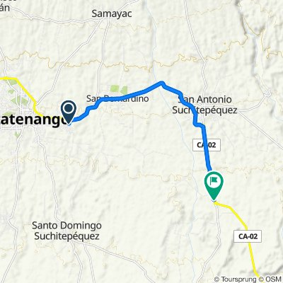 De Fundabiem, Mazatenango a CA-2
