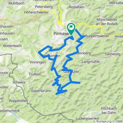 Mountainbiketour 20 Pirmasens