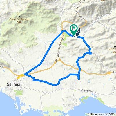 Cracking ride in Salinas