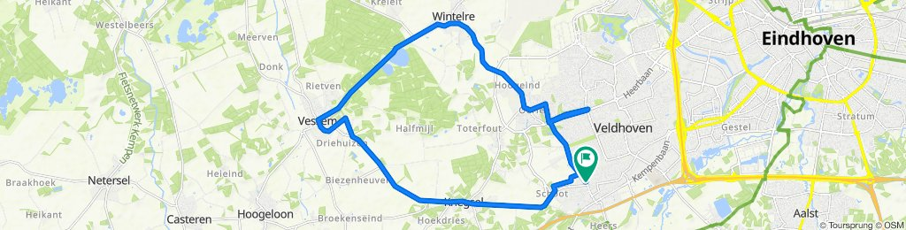 Moderate route in Veldhoven