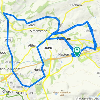 50 Valley Gardens, Burnley to 49 Valley Gardens, Burnley