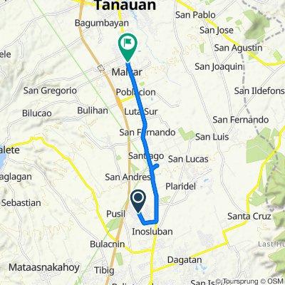 Lipa Royale Avenue to President Jose P. Laurel Highway, Tanauan